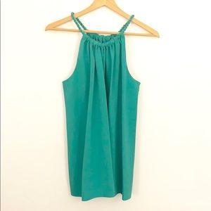 Rachel Roy Teal Turquoise Sleeveless Top